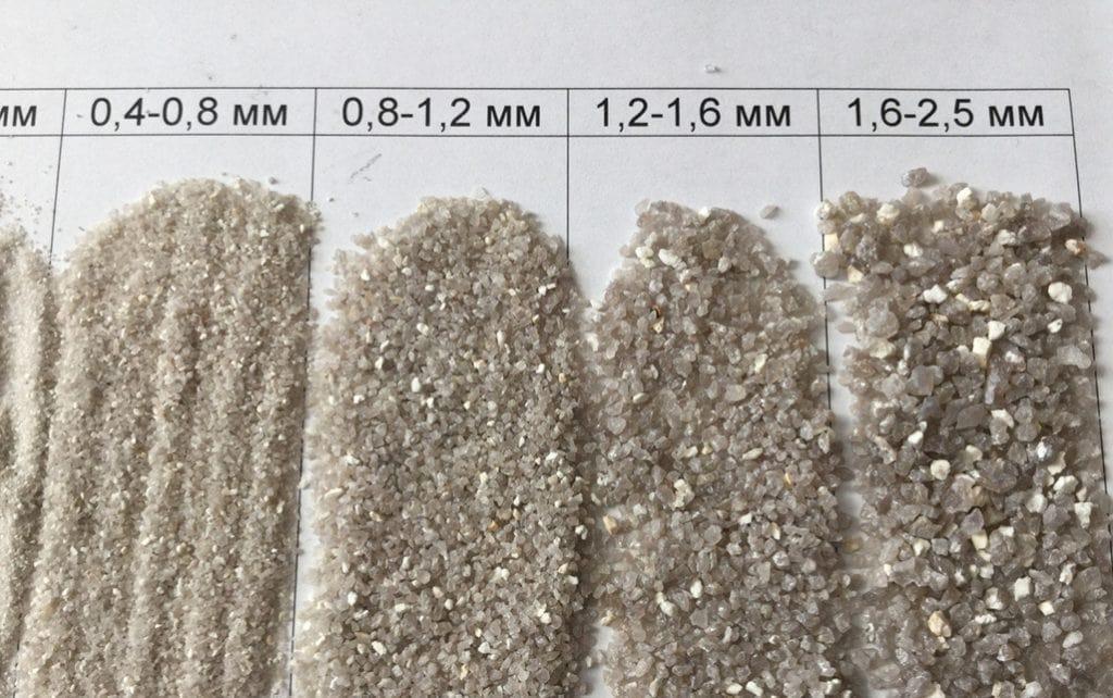 Песок для фильтра